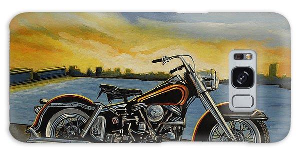 Motor Galaxy Case - Harley Davidson Duo Glide by Paul Meijering