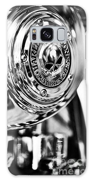 Chrome Galaxy Case - Harley Davidson Skull Casing by Tim Gainey