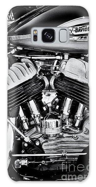 Harley Davidson Wla Monochrome Galaxy Case by Tim Gainey