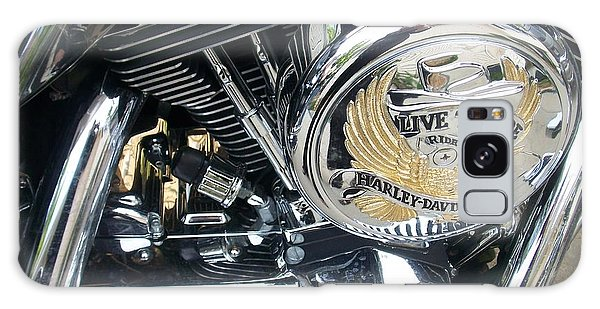 Harley Live To Ride Galaxy Case