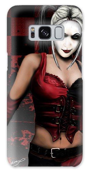 Harley Quinn Galaxy Case by Jeremy Martinson