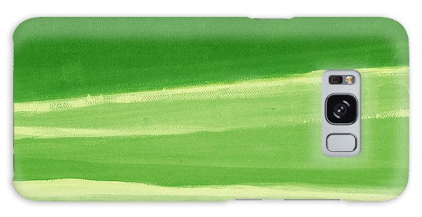 Abstract Landscape Galaxy Case - Harmony In Green by Linda Woods