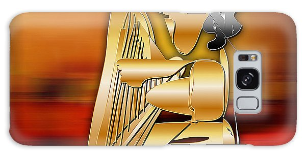 Harp Player Galaxy Case by Marvin Blaine