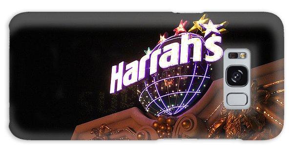 Harrahs Sign Las Vegas Nevada Galaxy Case