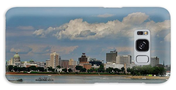Harrisburg Skyline Galaxy Case by Ed Sweeney