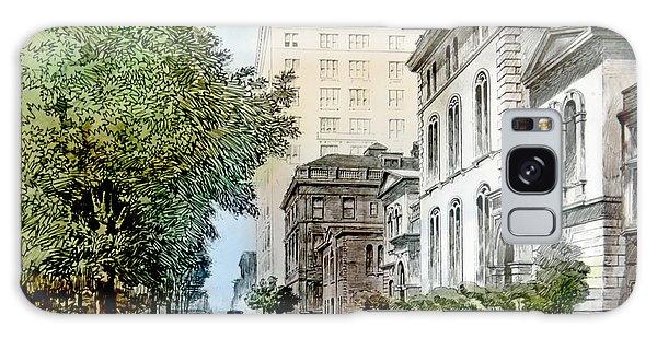 Harrison Residence East Rittenhouse Square Philadelphia C 1890 Galaxy Case