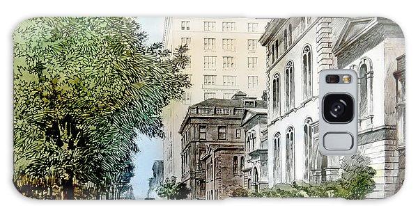 Harrison Residence East Rittenhouse Square Philadelphia C 1890 Galaxy Case by A Gurmankin