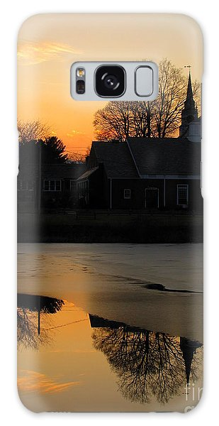 Harrisville Sunset Galaxy Case