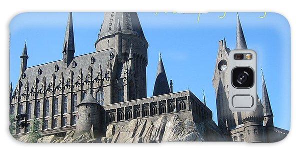 Harry's Hogwarts Galaxy Case by Marguerita Tan