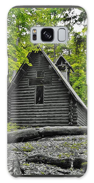 Hartwick Pines Chapel Bwg Galaxy Case