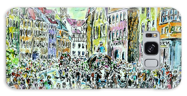 Harvest Festival Procession Galaxy Case