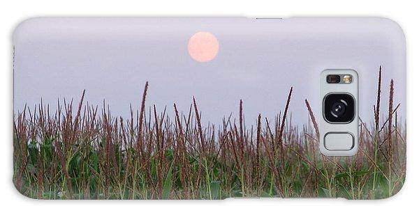 Harvest Moon Galaxy Case by Michael Krek