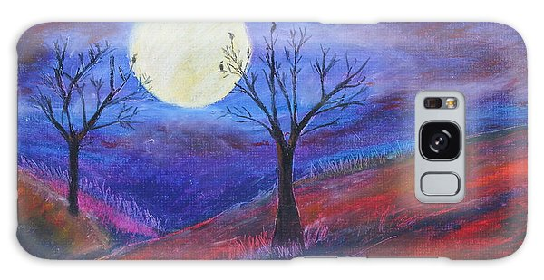 Harvest Moon 3 Galaxy Case by Jeanne Fischer