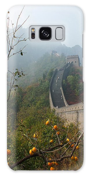 Harvest Time At The Great Wall Of China Galaxy Case