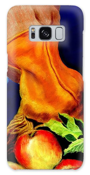 Harvest Time Pastel Galaxy Case by Antonia Citrino
