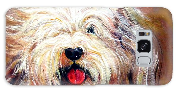 Harvey The Sheepdog Galaxy Case