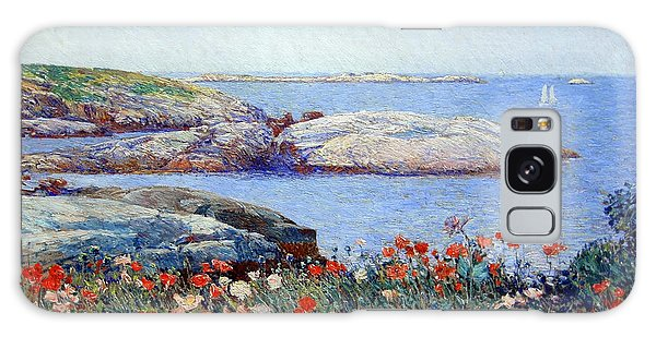 Hassam's Poppies On The Isles Of Shoals Galaxy Case