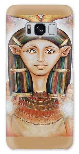 Hathor Rendition Galaxy Case