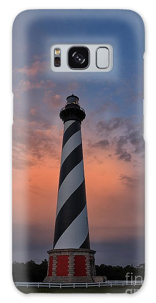 Hatteras Lighthouse Dawn Galaxy Case
