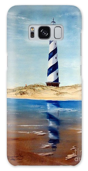 Hatteras Lighthouse Galaxy Case
