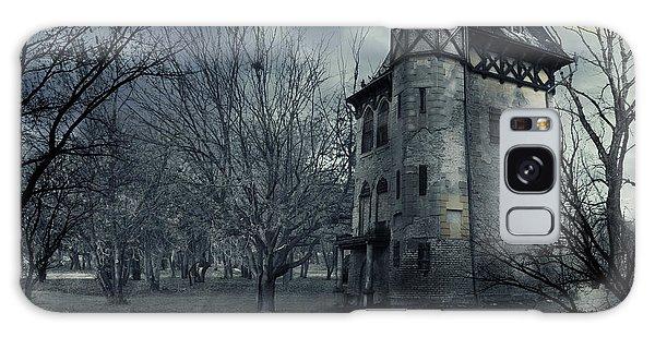 Scenery Galaxy Case - Haunted House by Jelena Jovanovic