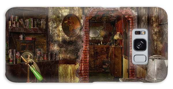 Haunted Kitchen Galaxy Case