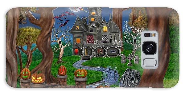 Haunted Mansion Galaxy Case by Glenn Holbrook