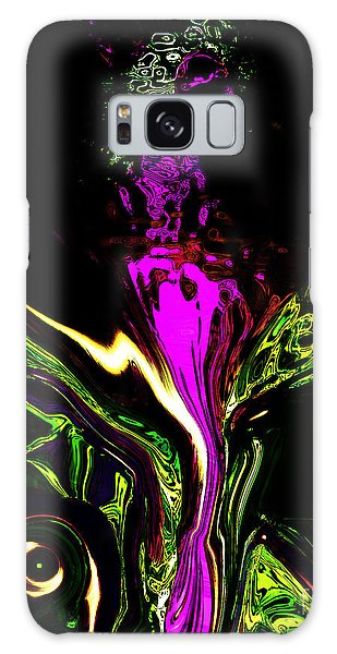 Galaxy Case featuring the painting Haute Couture by Gerlinde Keating - Galleria GK Keating Associates Inc