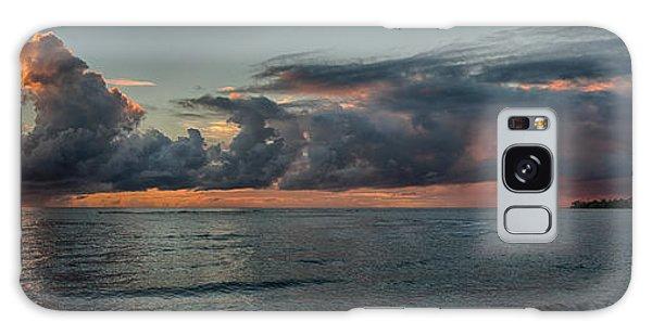 Hauula Sunrise Panorama Galaxy Case