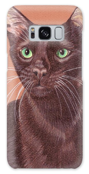 Havana Brown Vignette Galaxy Case by Anita Putman