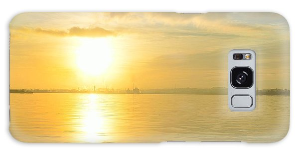 Havana Sunrise Galaxy Case by Steven Richman