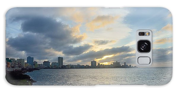Havana Sunset Galaxy Case by Steven Richman