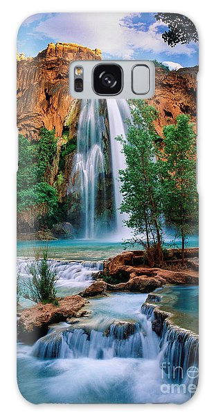 Grand Canyon Galaxy S8 Case - Havasu Cascades by Inge Johnsson