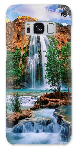 Southwest Usa Galaxy Case - Havasu Cascades by Inge Johnsson