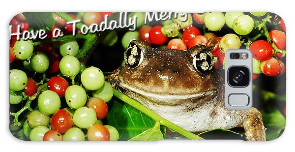 Have A Toadally Merry Christmas Galaxy Case