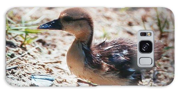 Lost Baby Duckling Galaxy Case by Belinda Lee