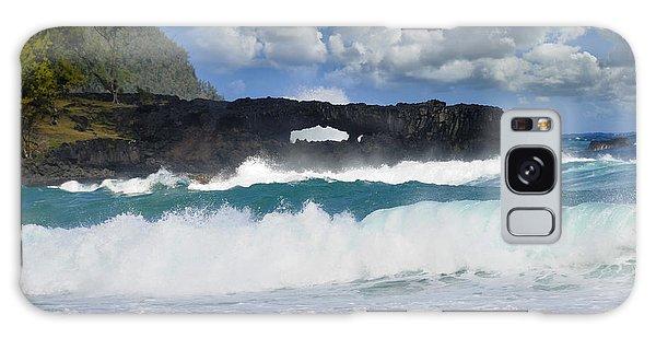 Hawaii Coastline Galaxy Case