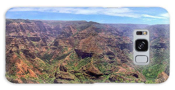 Hawaii Kauai Waimea Canyon Beautiful Panorama Galaxy Case