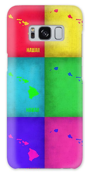 City Map Galaxy Case - Hawaii Pop Art Map 1 by Naxart Studio