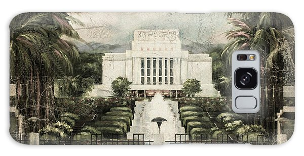 Hawaii Temple Laie Antique Galaxy Case