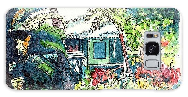 Hawaiian Cottage 3 Galaxy Case by Marionette Taboniar