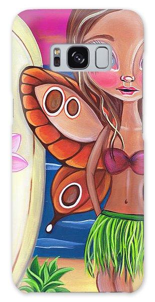 Hibiscus Galaxy Case - Hawaiian Fairy by Jaz Higgins
