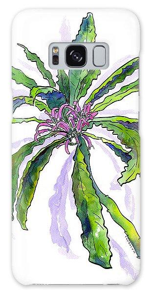 Hawaiian Haha Plant Cyanea Stictophylla Galaxy Case