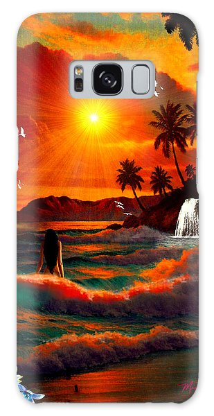 Hawaiian Islands Galaxy Case