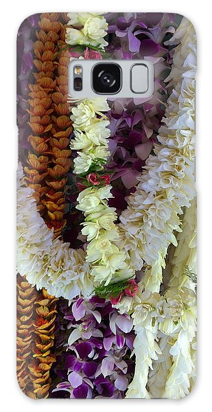 Hawaiian Leis Galaxy Case