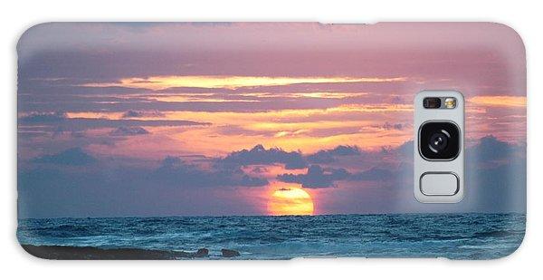 Hawaiian Ocean Sunrise Galaxy Case by Lehua Pekelo-Stearns