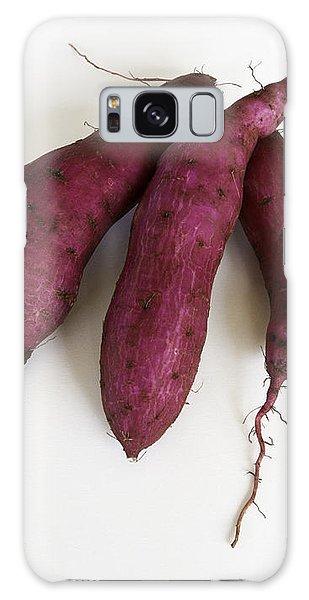 Hawaiian Purple Sweet Potatos Galaxy Case by Denise Bird