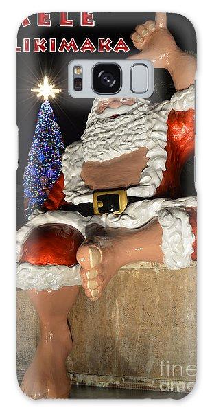 Hawaiian Santa Galaxy Case