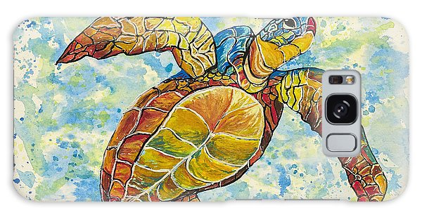 Hawaiian Sea Turtle 2 Galaxy Case