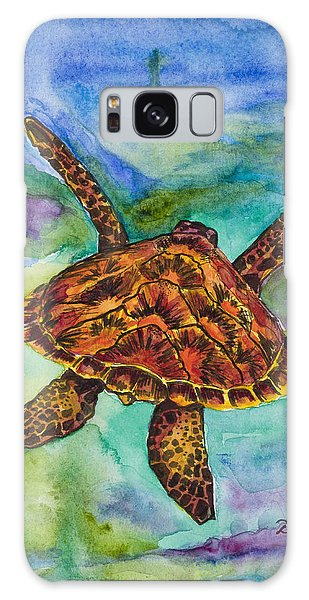 Hawaiian Sea Turtle Galaxy Case